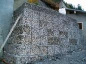 Mur de soutenement ern gabion - Tunnel des Arves - RD 926